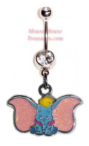 Dumbo Belly Ring Belly Button Piercing Rings Disney
