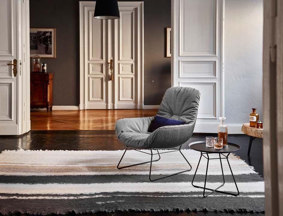 Leya Lounge Chair Mit Drahtgestell | Freifrau Sitzmöbelmanufaktur