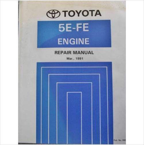 toyota 5e fe engine repair manual 1991 paseo rm238e on ebid united rh pinterest com Pe Exam Study Materials Santa Fe Owner's Manual