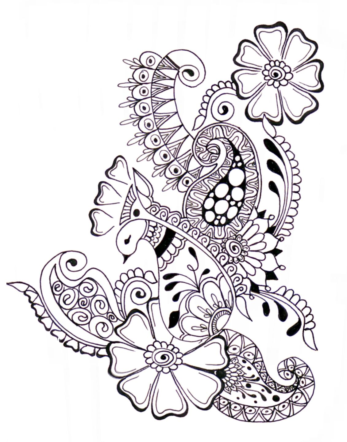 Zentangle Doodles Pinterest Doodles Coloring pages and Zentangle