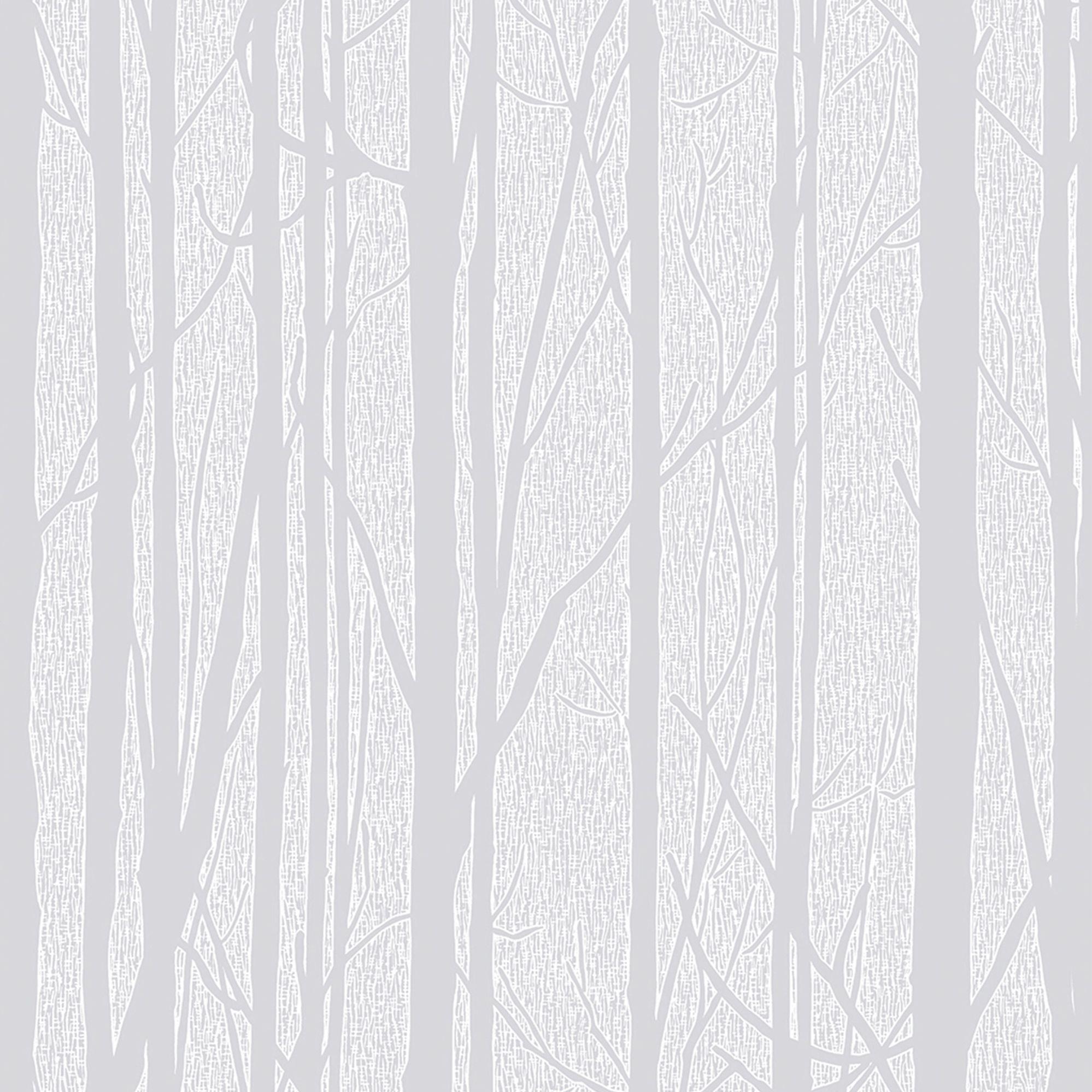 Craig Rose White Trees Paintable Wallpaper White Wallpaper
