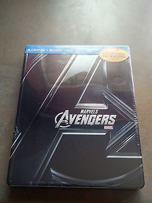 Marvel the avengers #assemble 3d+2d+dvd+digital #4-disc steelbook viva #blu-ray n,  View more on the LINK: http://www.zeppy.io/product/gb/2/271651290465/