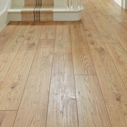 Howdens Professional V Groove Tawny Chestnut Laminate Has The Natural Authentic Look Of Real Wood Enhanced By A Four Sided V Groove