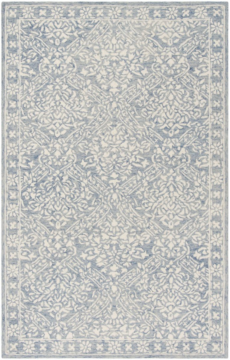 Ralph Lauren Hand Tufted Lrl6935m Blue - Ivory Area Rug ... on waterford area rugs, chanel area rugs, kate spade area rugs, horchow area rugs, jonathan adler area rugs, suzanne kasler area rugs, nina campbell area rugs, z gallerie area rugs, lexington area rugs, victoria hagan area rugs, barbara barry area rugs,