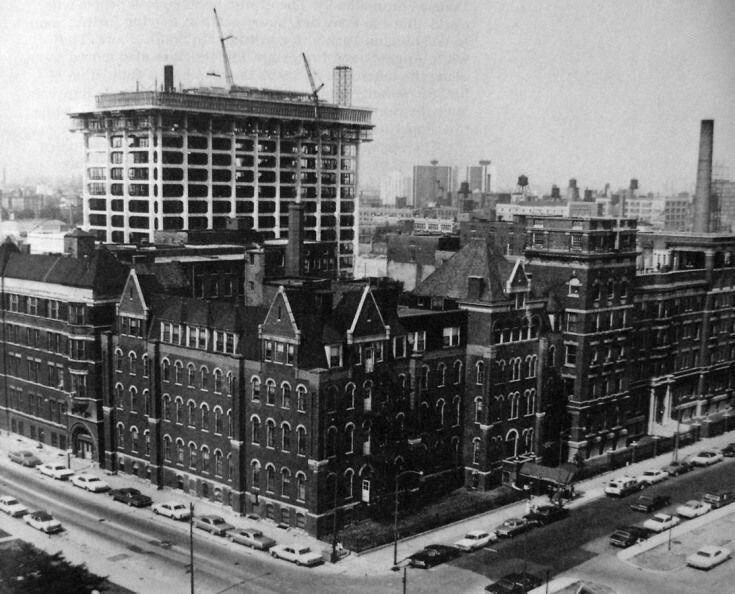 1968 mercy hospital chicago city chicago history chicago