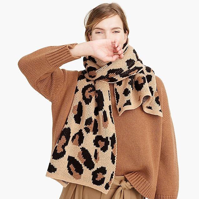 ab417d02653e3 demylee™ x j.crew leopard-print scarf : women accessories   scarves ...