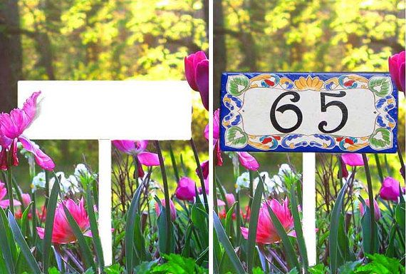 Garden Stake To Display Your House Number Sign, Yard Stake, Lawn Stake,  Ground Stake, Custom Stakes, Ground Sign, Garden Sign.