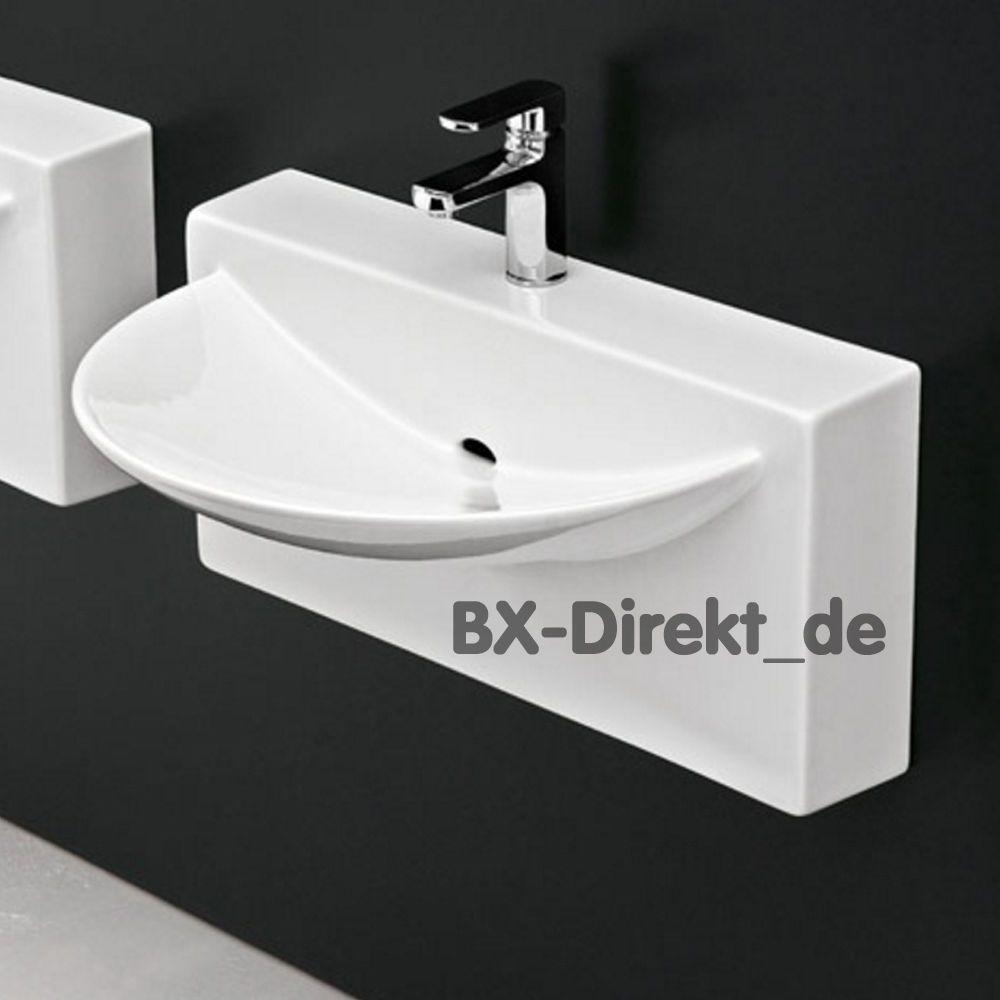 Designer Waschtisch Wall Von Artceram Keramik Monoblock