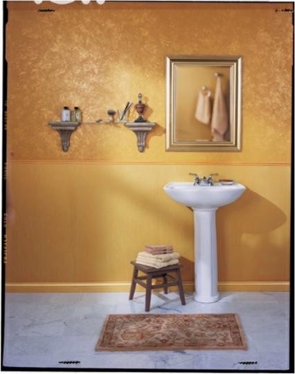 Sherwin williams sundance sw 6897 paint colors for bathrooms pinterest bathroom colors - Exterior paint in bathroom set ...
