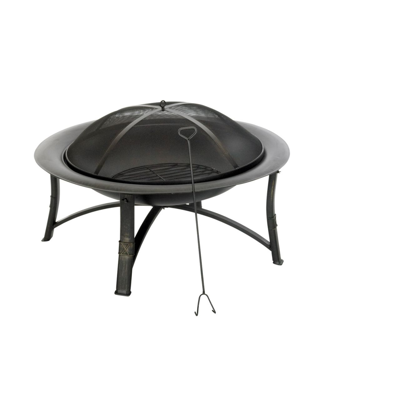 35 in Round Fire Pit from Living Accents at Ace Hardware ... on Ace Hardware Fire Pit id=55925