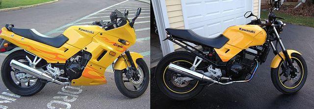 Ninja 250, no fairings   I like it | Projects | Cafe racer