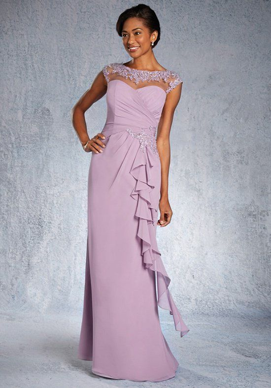 Alfred Angelo Special Occasion 9028 Mother Of The Bride Dress Knot