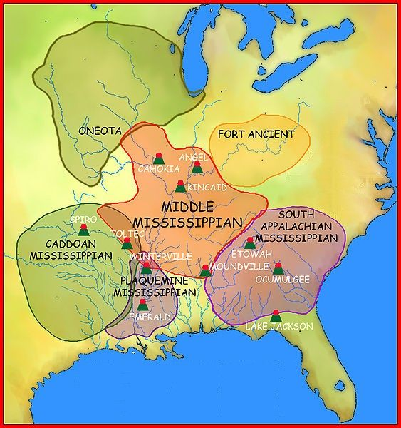 Native Mississippian Cultures | Mind | Strange Obsessions ...