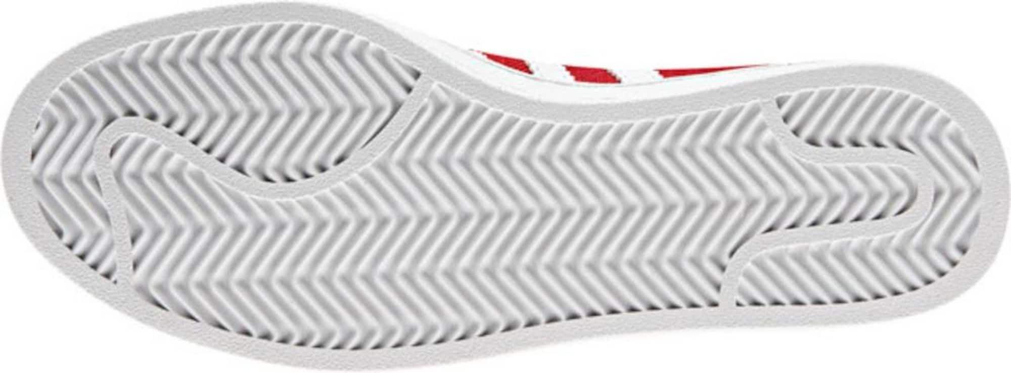 ADIDAS ORIGINALS Sneaker 'Campus' Herren, Rot, Größe 38.5/39 ...