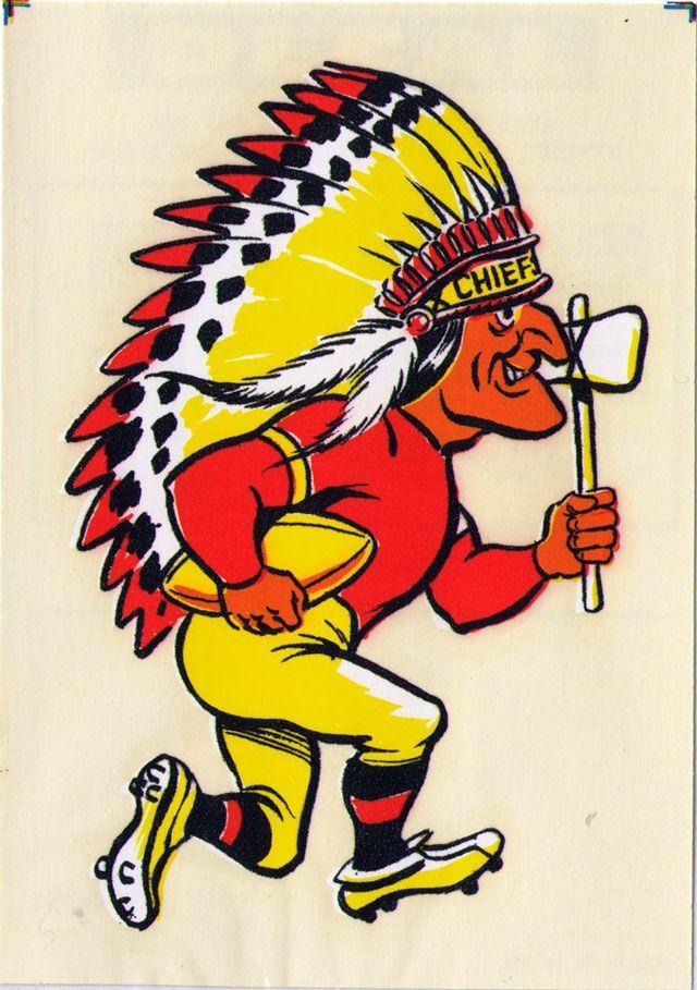 Vintage 1969 AFL/NFL Team Mascot Decal - Kansas City ...