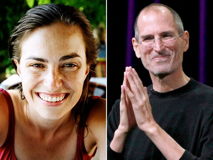 Steve Jobs S Daughter Opens The Secret Of Relationships With Her Father Jobs Daughters Steve Jobs Steve