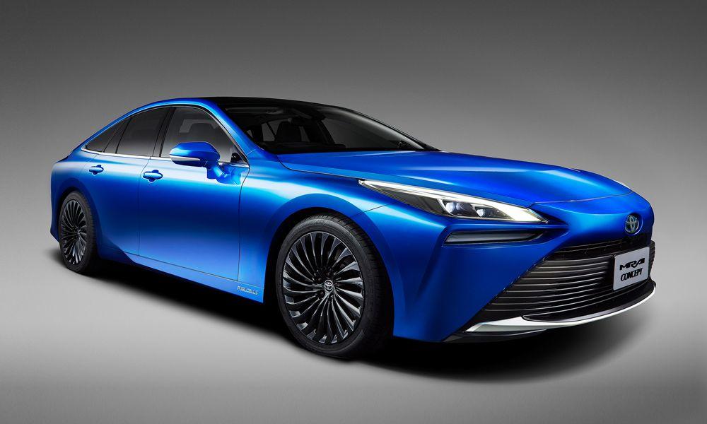 2021 Toyota Mirai Sedan Concept Hydrogen car, Toyota new