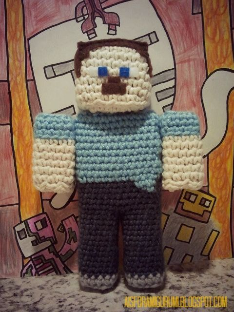 A is for Amigurumi: I am a Player...of Minecraft that is. | For the ...