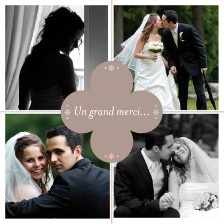1000 images about remerciements mariage on pinterest - Remerciement Mariage Photo