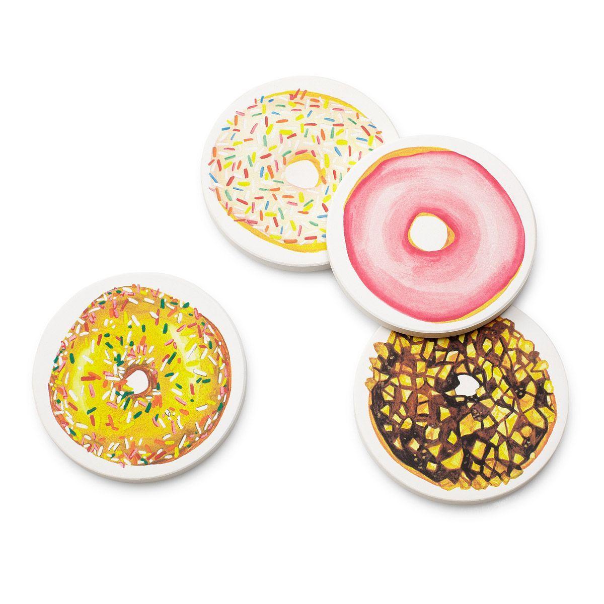 Donut coasters drink coaster ceramic drink coasters