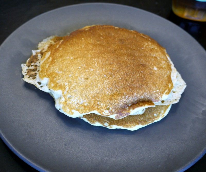 pre-marathon pancakes. At least that's what worked for me! 26.2, baby!
