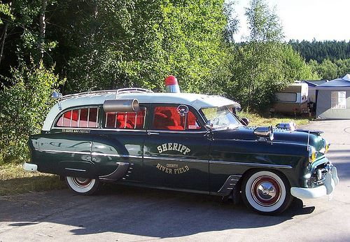 '53 Chevy ambulance