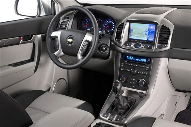 chevrolet captiva 2018 interior look