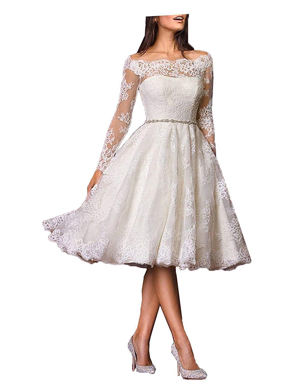 Aurora dresses, romantisches Brautkleid Vintage, Langarm ...