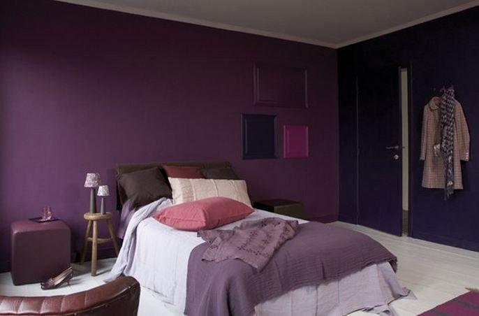 Paarse Slaapkamer Voorbeelden : Verfkleuren kiezen de ideale slaapkamer kleuren colora