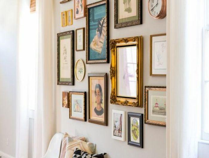 ▷ 1001 + conseils et idées pour arranger un mur de cadres parfait