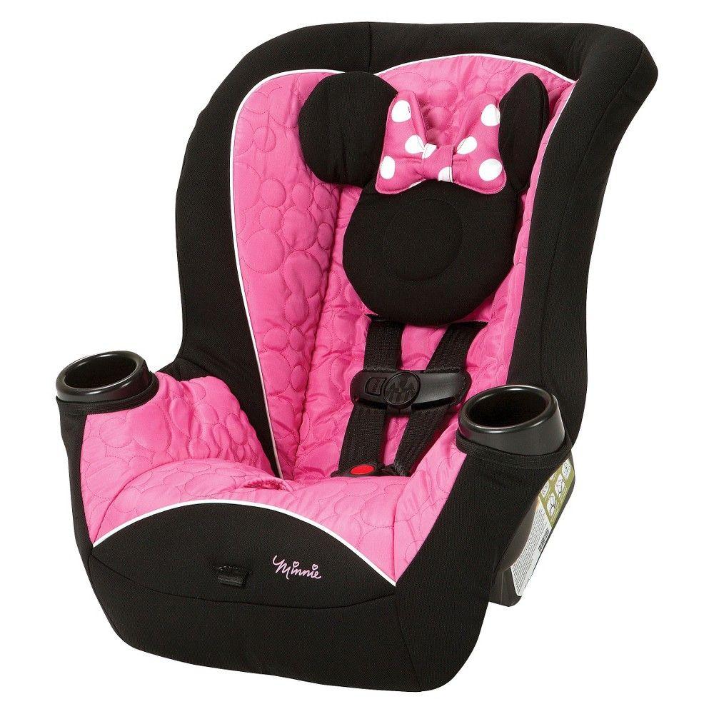 Disney Convertible Car Seat Minnie Apt MousePink 40 gb7y6f