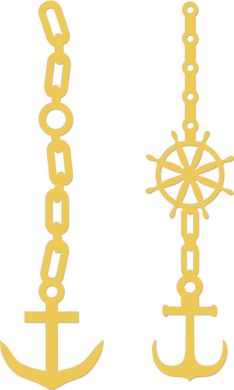 Kaisercraft Decorative Dies | Anchors | DD341