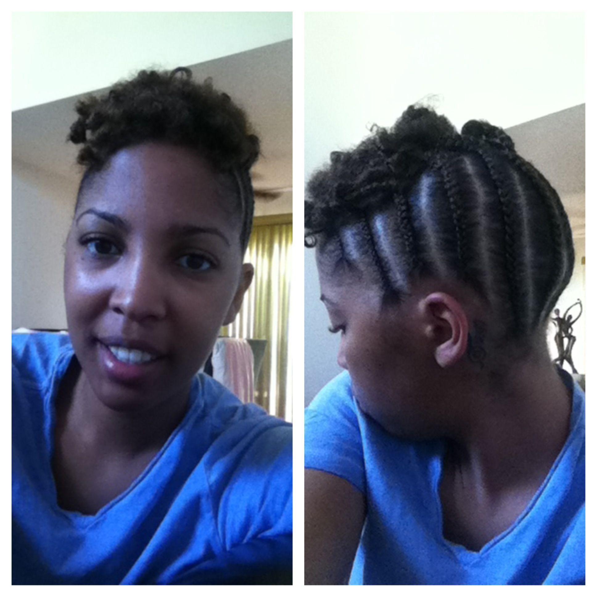 Naturalhair braids braidstyles updo hair ideas pinterest updo