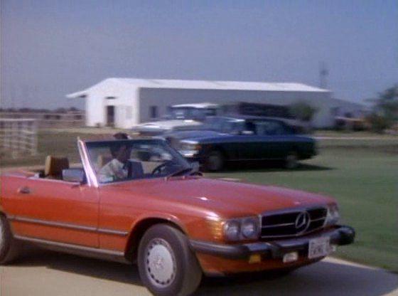 Dallas Bobby Ewing Mercedes-Benz 560 SL (met afbeeldingen)
