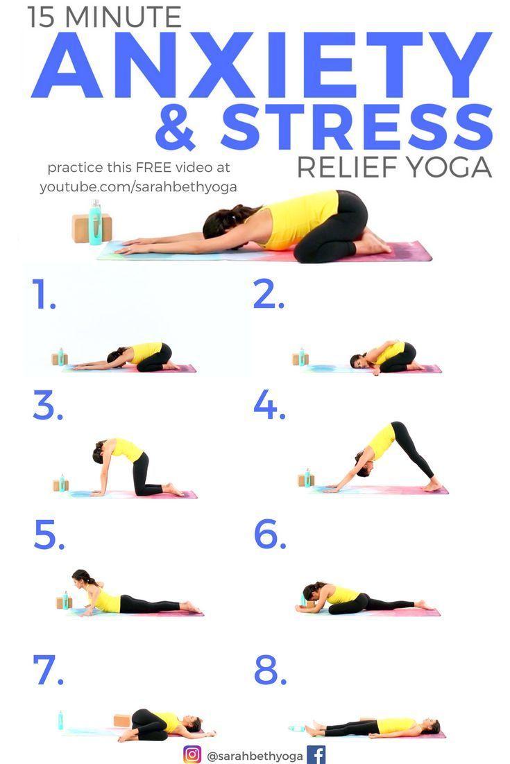 Photo of 15 Minuten Yoga für Angst & Stressabbau. Klicken Sie sich durch für das KOSTENLOSE YouTube