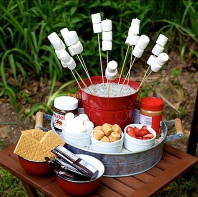 Camp Food Ideas: Best 25+ Fire Pit Food Ideas On Pinterest
