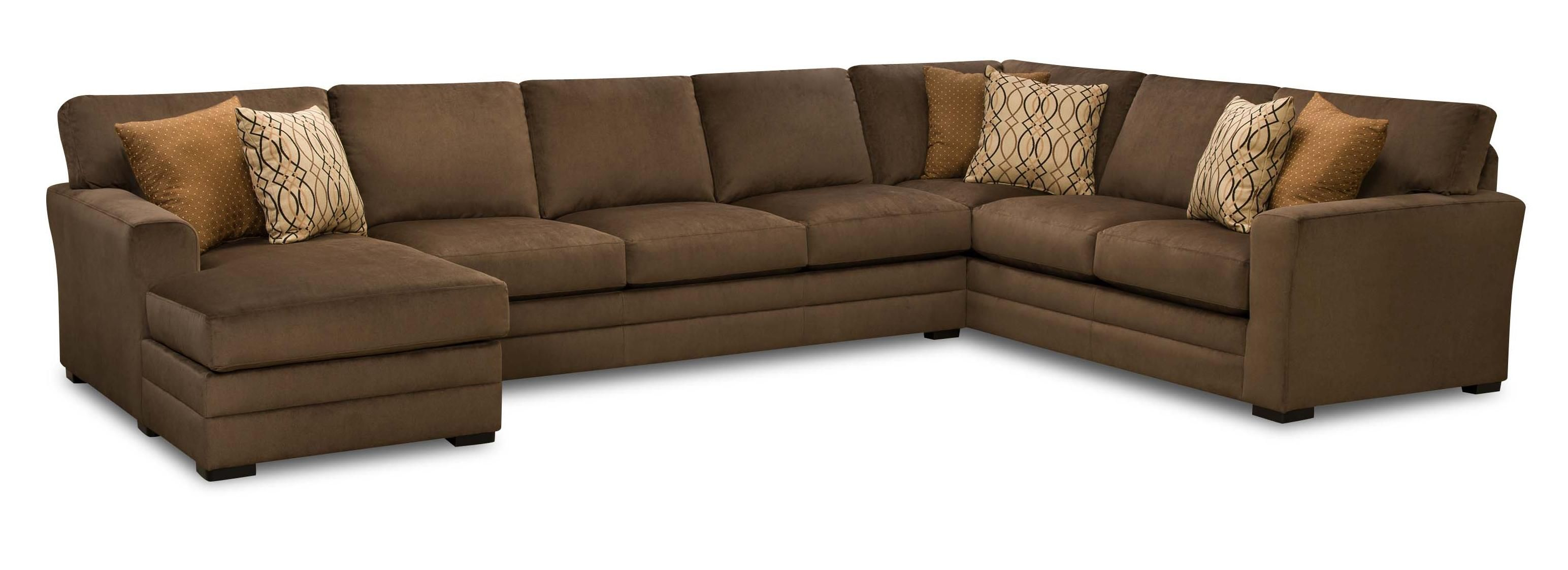 Transitional 3 Piece Sectional Sofa by United Furniture