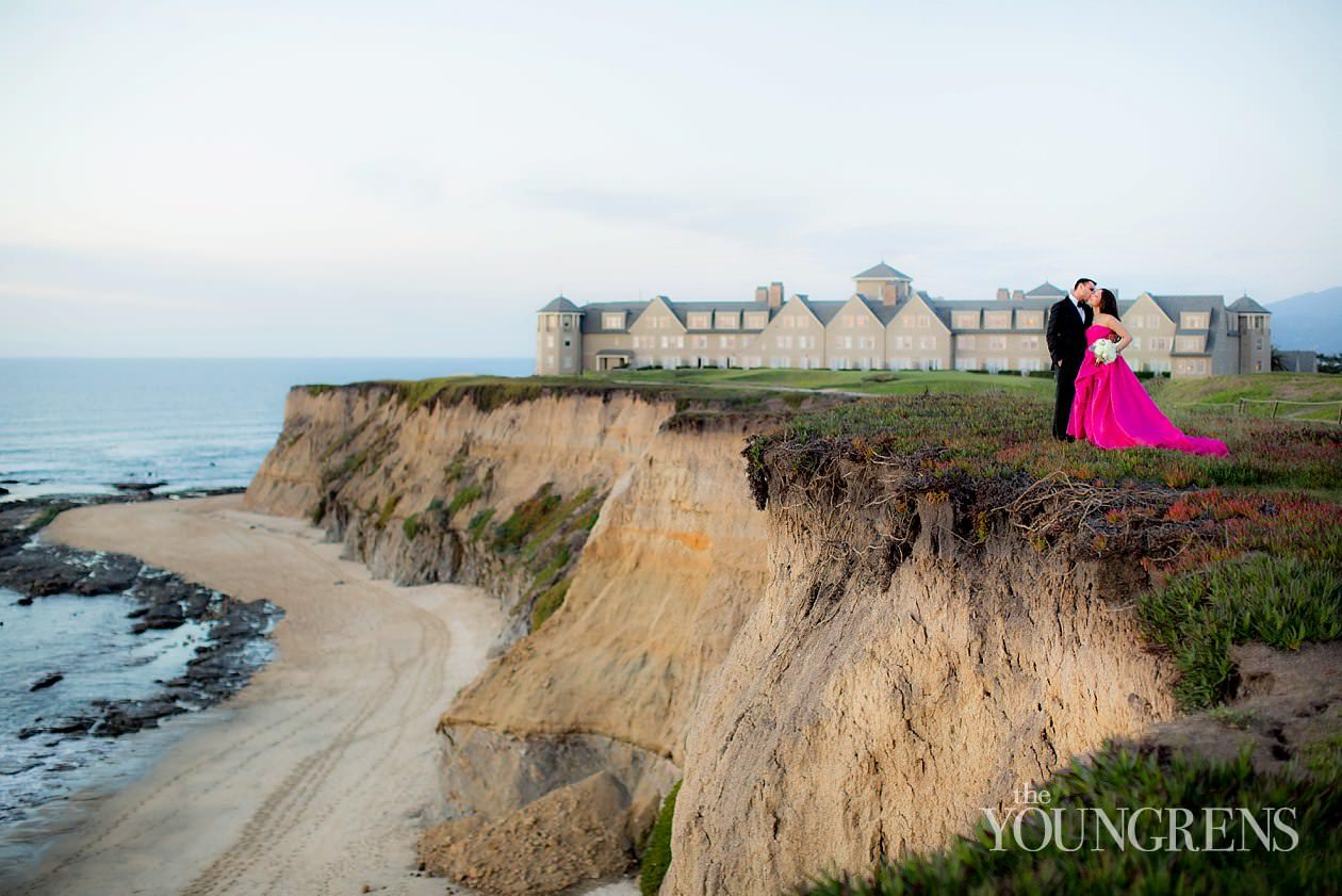 Ritz Carlton Half Moon Bay Wedding Photography By The Youngrens