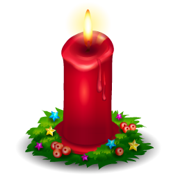 Christmas candle PNG image | cliparts 1... | Pinterest