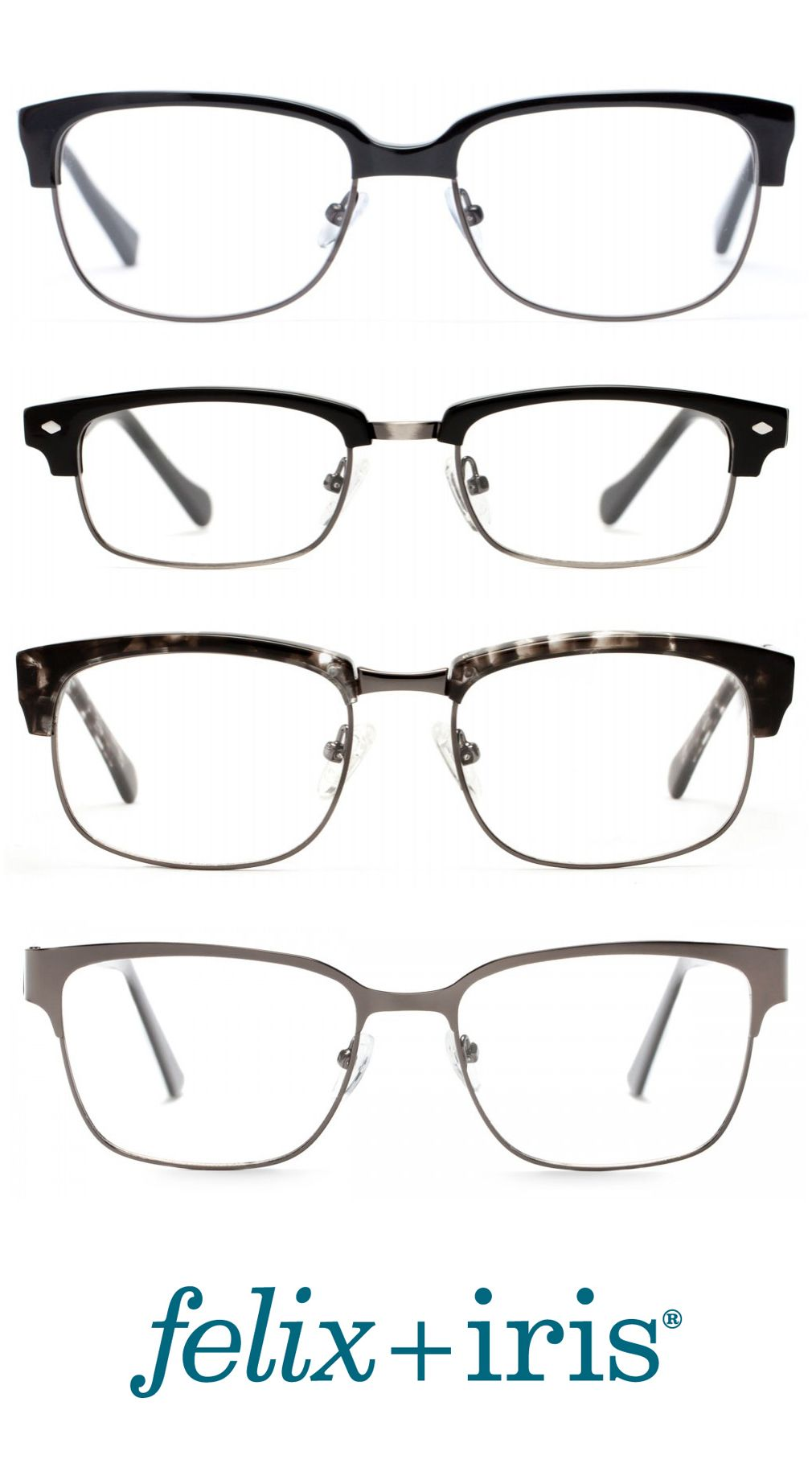 4 Modern Browline Frames for those that love the iconic Clubmaster ...