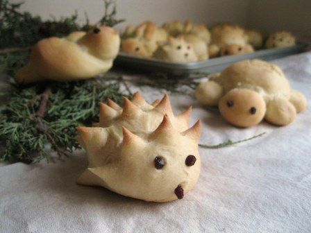 Sleeping Beauty Woodland Creature Sweet Rolls