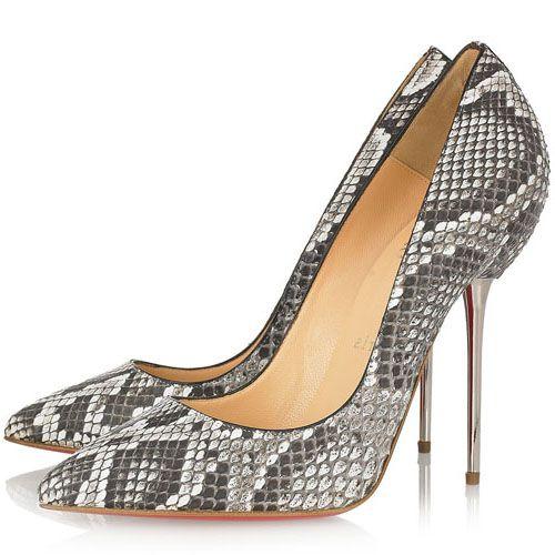 Christian Louboutin Lipsinka 120mm Python Pumps Sale: $145.50 � Louboutin  PumpsChristian Louboutin ShoesPumps SaleDaily StyleCelebrity ...