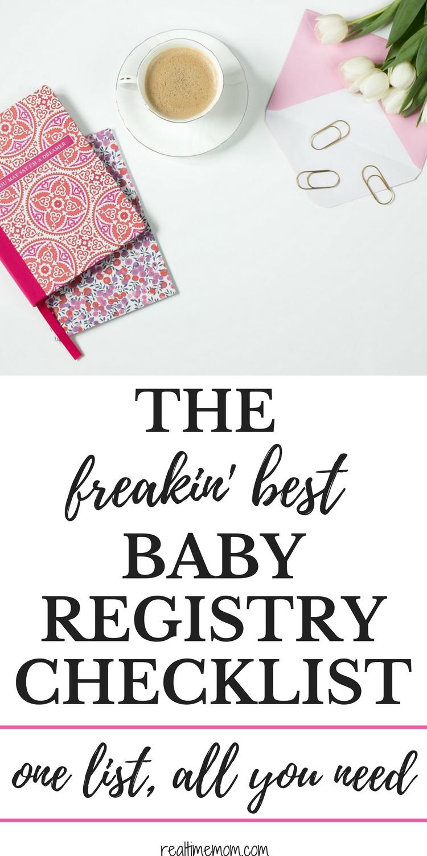 Baby Registry Checklist For The Modern Mom  Baby Registry