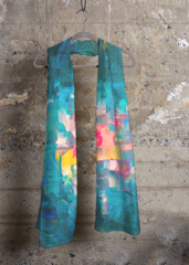 """""""Sweet Memories"""" Cashmere Modal scarf Designed by Graciela Blancarte in collaboration with VIDA http://shopvida.com/collections/voices/graciela-blancarte#womensfashion #accesories #scarves #fashion"""
