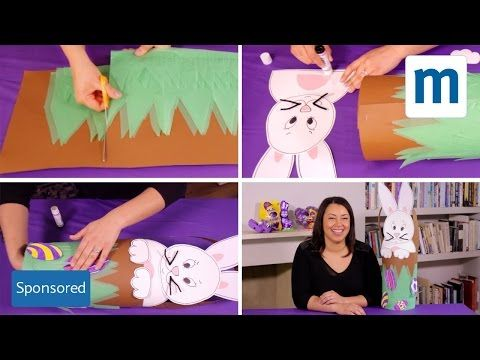 Make your own impressive Easter bonnet with our simple how-to video. And click here for ready-tp-print templates: http://tiny.mn/1LWE2sK