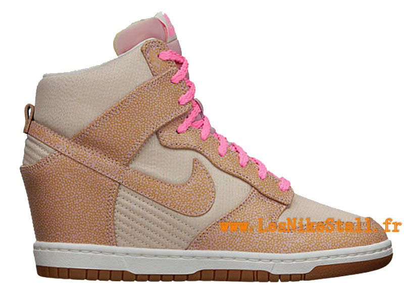 arrive 6fac3 46a8f Officiel Nike Dunk Sky High Vintage GS - Chaussures Nike ...