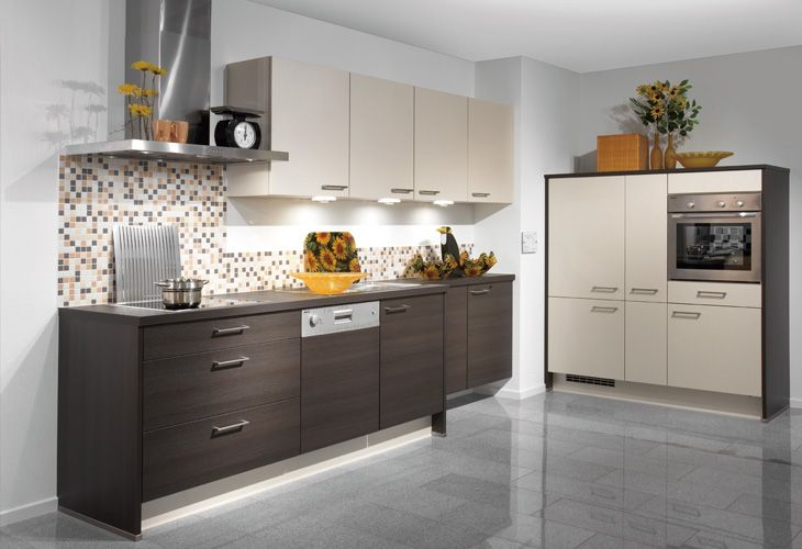 New K che in dunklem Holz von Nobilia Dark wood kitchen by Nobilia