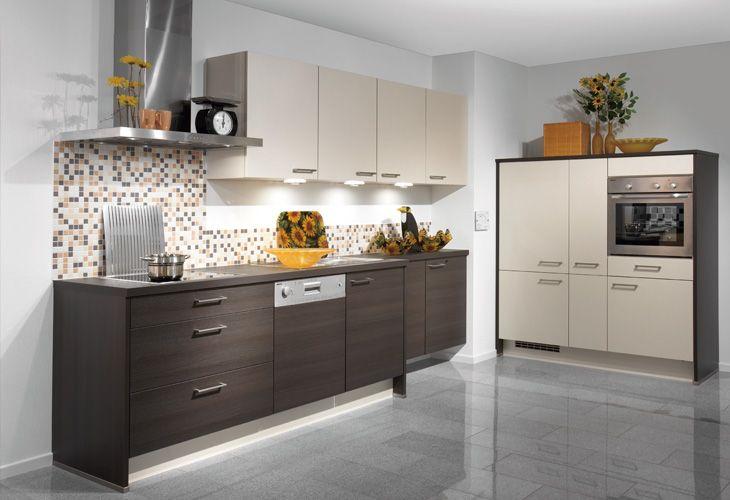 Epic K che in dunklem Holz von Nobilia Dark wood kitchen by Nobilia