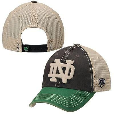 sports shoes cc628 aa1e8 Notre Dame Fighting Irish Hat Offroad Trucker Adjustable Cap OSFA