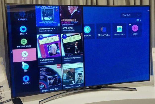 Samsung Smart Tv Mit Tizen Soll Zur Ces 2015 Gezeigt Werden Samsung Linux
